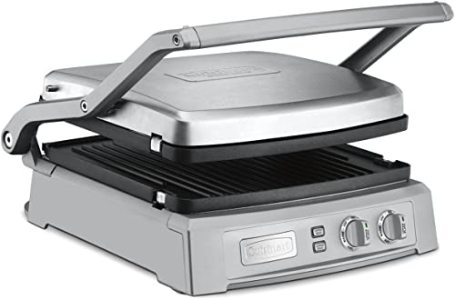 lowest Cuisinart high quality GR-150P1 GR-150 Griddler high quality Deluxe, Brushed Stainless sale