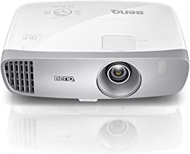 BenQ DLP HD Projector (HT2050) - 3D Home Theater Projector with All-Glass Cinema Grade Lens and RGBRGB Color Wheel,Silver/...