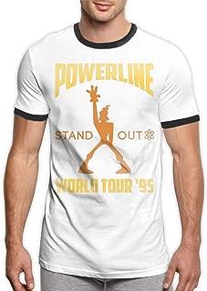 Maria Oro Powerline Concert Tee Men's Ringer T-Shirt