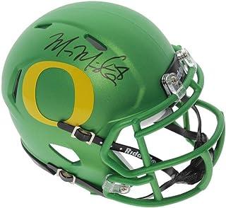 Marcus Mariota Autographed Signed Oregon Ducks Candy Apple Speed Mini  Helmet - PSA DNA Authentic 999650026