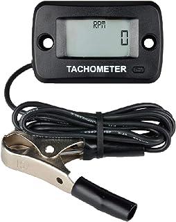 Tacómetro digital Runleader, pantalla en tiempo real de RPM, registro de RPM máximo para montar, cortacésped, tractor, generador, soplador de nieve marino, motor fuera de borda, motocicleta