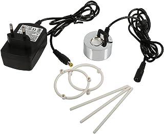 24V générateur de brume ultrasonique, humidificateur d'atomiseur d'étang de fontaine d'eau de Fogger, rocaille réservoir d...