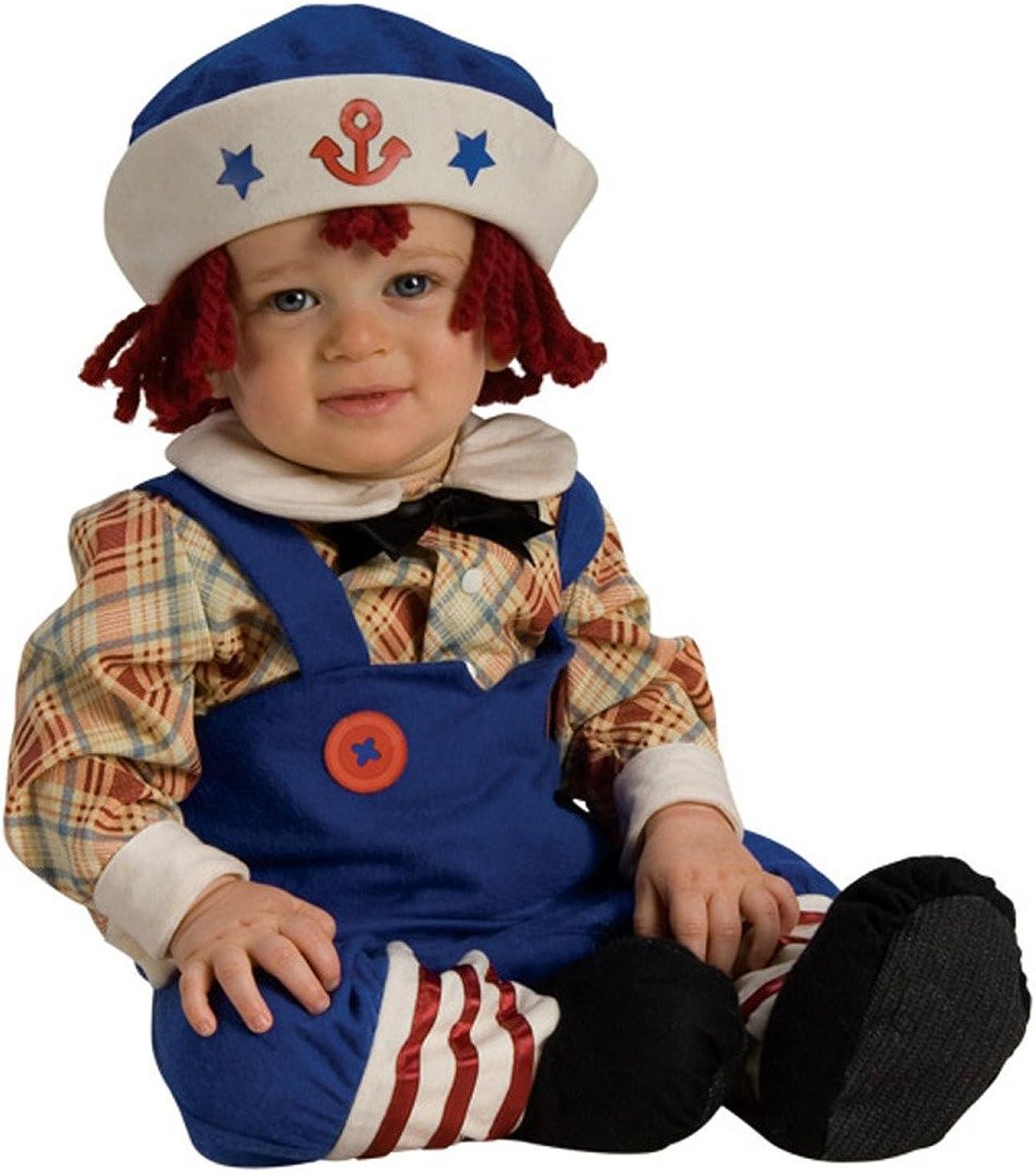 Yarn Super intense SALE Babies Max 52% OFF Ragamuffin Sailor Toddler Costume Infant