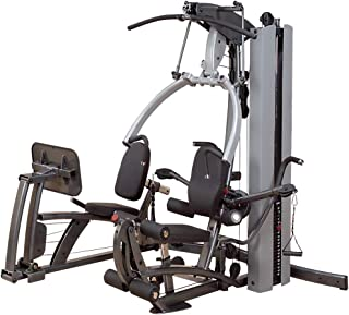 DumbbellBuddy.com Fusion 600 with Leg Press and 210 lb. Weight Stack by Body-Solid