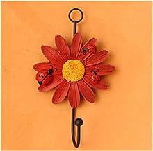 yitao Muur haken, 1 st creatieve huishoudelijke haken bloem vorm hangers voor sleutel hoed handdoek muur haken woondecorat...