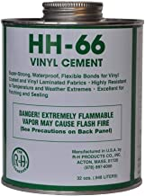 RH Adhesives HH-66 PVC Vinyl Cement with Brush 32 Ounce