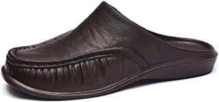Stylein Men's Mules Clogs Backless Loafers Slip-On House Slippers