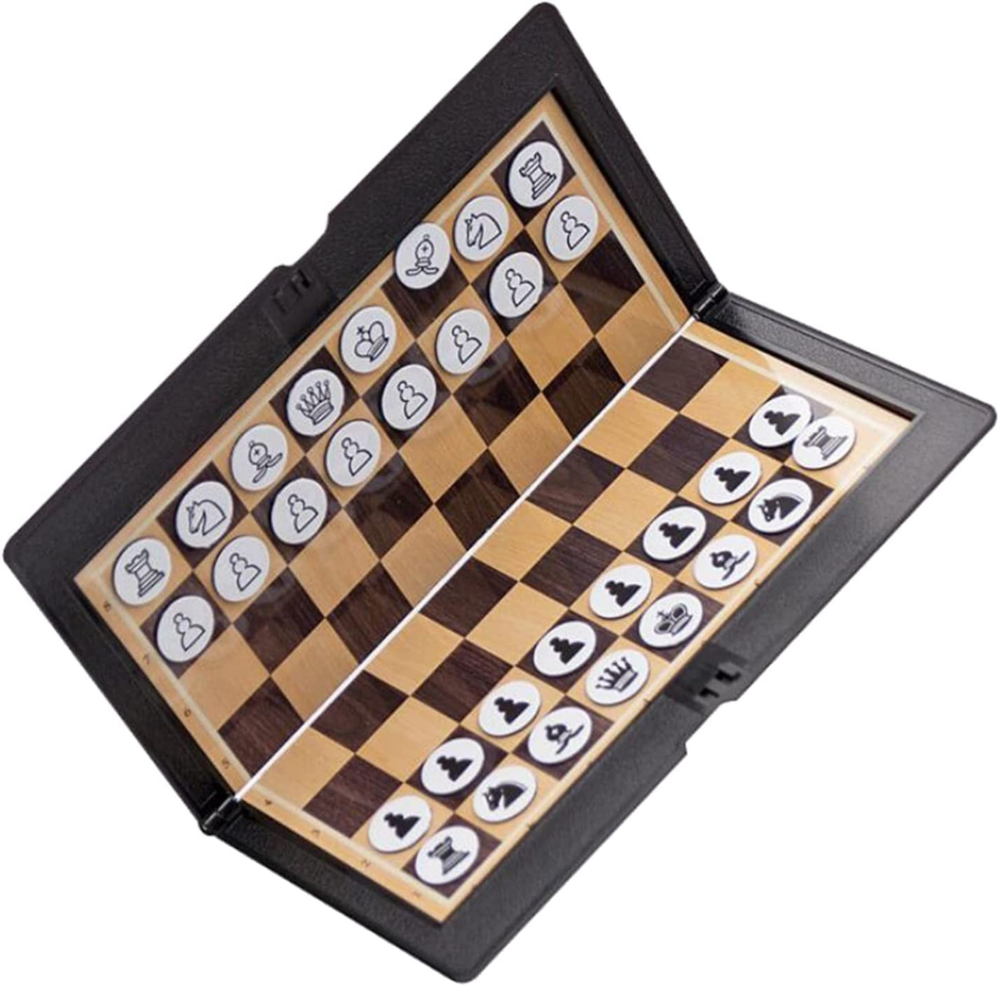 LTGJJ Chess Set Max 48% OFF Board Game Mini Wa Foldable Spring new work one after another Chessboard