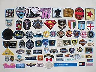 30pcs Armbands Emblem Badge Heart embroidery Patches Iron On Appliques(Random)