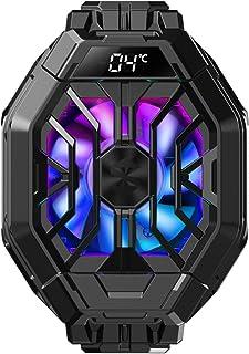 Apobob Refrigerador de telefone Black Shark 2 Pro com temperatura de exibição, radiador refrigerador para dissipador de ca...