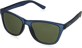 Pepe Jeans UV Protected Wayfarer Unisex Sunglasses - (PJ7343C3|55|Light Green Color)