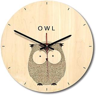 Zacheril Reloj De Pared De Números Soporte de Dibujos Animados Reloj de Pared Europeo El búho Reloj Creativo Reloj de Pare...