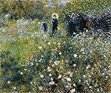 Das Museum von Ausgang–Renoir–Frau mit einem