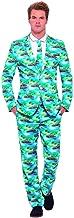 shoperama Hawaii Anzug Aloha mit Krawatte Herren-Kostüm Sakko Jackett Hose Karneval Party JAG Strand Beach, Größe:M