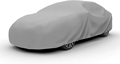 Budge D-5 Duro Car Cover Gray Size 5: Fits up to 22' 3 Layer, Water Resistant, Scratchproof, Dustproof