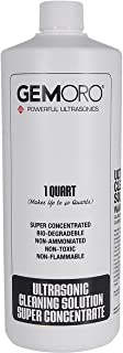 Best Jewelry Supply Gemoro Quart Super Concentrate Cleaner Solution For Ultrasonic Machines 40 to 1