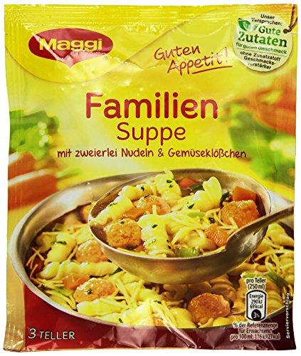 Maggi Guten Appetit Familien-Suppe, 9er Pack (9 x 60 g)