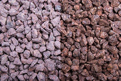 Kies Splitt Zierkies Edelsplitt Roter Porphyr 8-16mm Big Bag 1000 kg