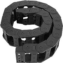 Kabeldrager Drag Chain,100 cm 25 x 57 mm Versterkte nylon PA66 Open Beide Zijdraaddrager Drag Ketting Graveermachine Acces...