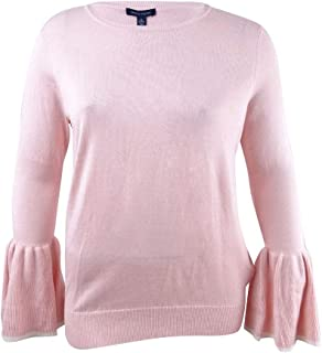 Tommy Hilfiger Womens Casual Lightweight Pullover Sweater