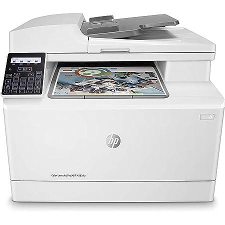 HP Color LaserJet Pro MFP M183fw - Impresora láser multifunción, color, Wi-Fi, Ethernet (7KW56A)