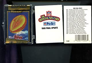1992 Topps Finest Football Card Complete Set FACTORY SEALED Box 1989 Pro Set Final Update