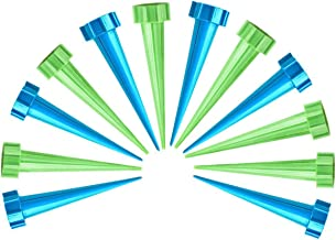 Amersumer 12 Pcs Automatic Irrigation Watering Device,Garden Cone Watering,Spikes Waterers Bottle Irrigation System