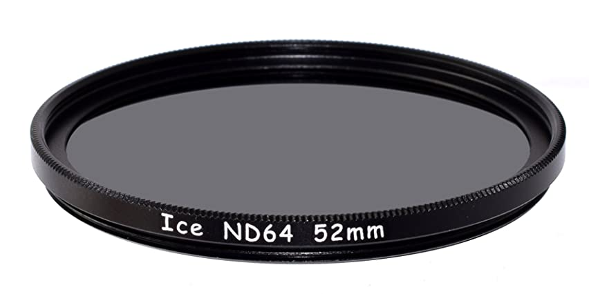 ICE 52mm ND64 Filter Neutral Density ND 64 52 6 Stop Optical Glass