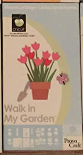 walk in the garden cricut cartridge