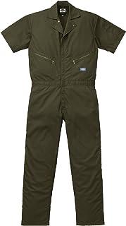 ディッキーズ Dickies (山田辰)夏用半袖 ツヅキ服 1312 アーミーグリーン 4Lサイズ
