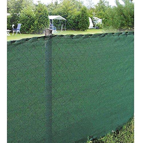 Brise vue jardin - Brise vue occultant - Rouleau Brise vue - WerkaPro 10743 - Brise Vue Vert - Tissage renforcé de 150gr/m2 - Rouleau de de 10 x 1,50 m - En polyéthylène