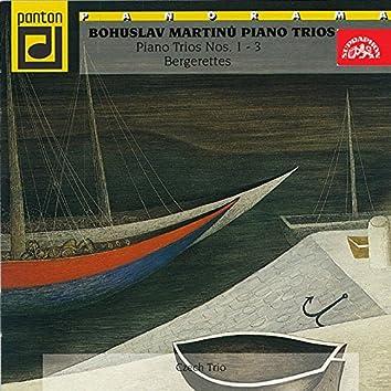 Martinů: Piano Trios Nos. 1 - 3