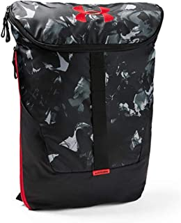Under Armour Expandable Unisex Outdoor Backpack - Polyester, Black/Coho