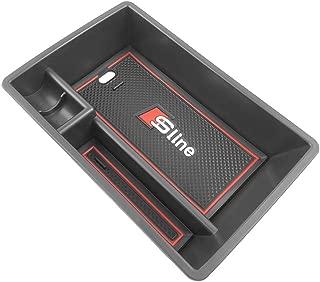 Yeeoy Center Console Tray Organizer Glove Box Fits 2019 Audi Q3 Armrest Secondary Storage Box Accessories