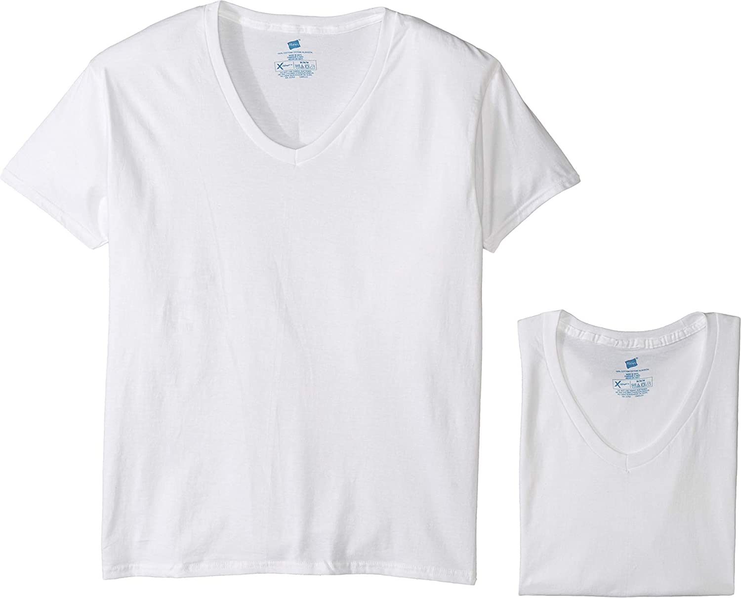 Hanes Men's 4-Pack Platinum X-Temp V-Neck Combed Max 77% OFF New Shipping Free Shipping Cotton