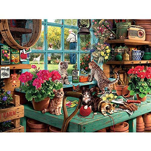 Puzzle Get That Cat! 1000 Piezas (619056)