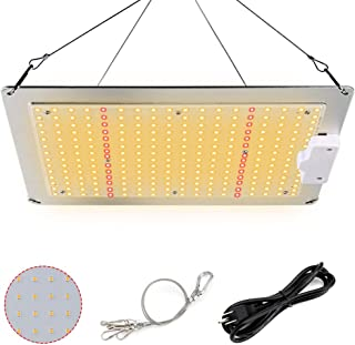 LED Grow Light, Dimmable Sunlike Full Spectrum Plant Growing Lamp 2x2 ft Waterproof Growth Light for Hydroponic Indoor Plants Greenhouse Seedling Veg and Flower