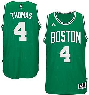 adidas Isiah Thomas Boston Celtics NBA Youth Green Swingman Road Jersey (Youth Medium 10-12)