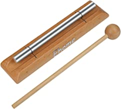 Meditation Chime, Ehome Solo Percussion Instrument with Mallet for Prayer, Yoga, Eastern Energies, Musical Chime Toys for Children, Teachers' Classroom Reminder Bell…
