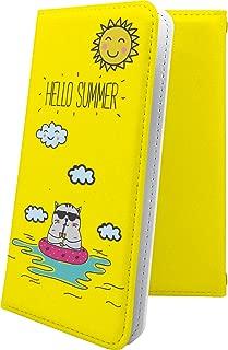 ZenFone5Q ZC600KL ケース 手帳型 ぶた 豚 ねこ 猫 猫柄 にゃー ゼンフォン5q ゼンフォン5 手帳型ケース 女の子 女子 女性 レディース zenfone 5q 5 q ハワイアン ハワイ 夏 海