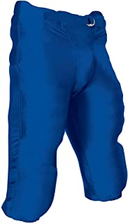 CHAMPRO Youth Integrated Football Game Pant Royal Large