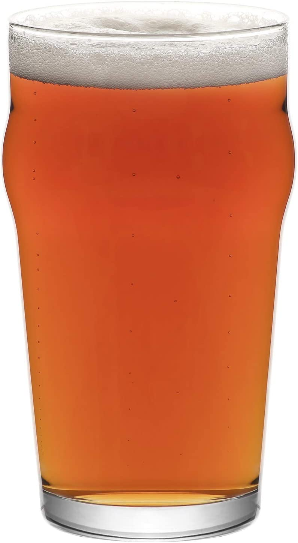 LAV Pint Ranking Sale price TOP12 Glasses Set of 6 Cra Beer Oz Pilsner - 19
