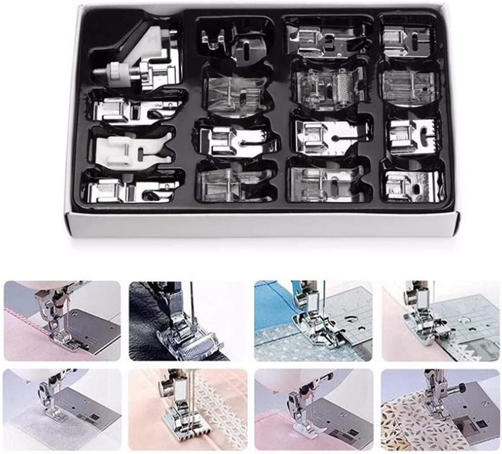 16Pieces Attention brand Domestic Sewing Cheap mail order shopping Machine Accessories Presser Feet Foot K