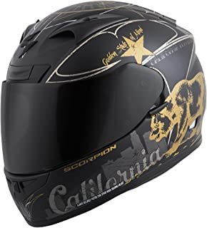 Scorpion EXO-R710 California Golden State - Full-Face Street Helmet - Black/Gold - LG