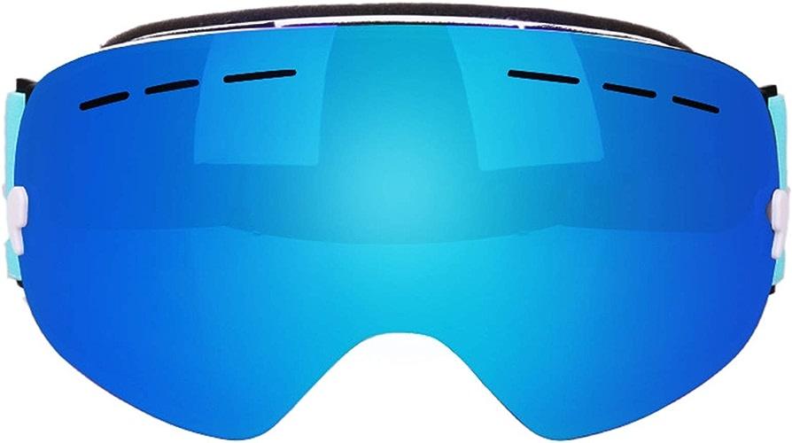 Abellale Lunettes de Ski, Lunettes de Neige, Lunettes de Snowboard, Grande sphère Double lentille Anti-buée pour Adulte