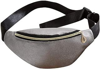 Everpert Women Waist Pack Hobos Shoulder Bag Pu Leather Waist Bags Chest Packs