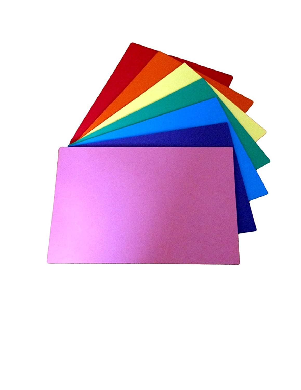 House of Card and Paper Rainbow A4 160 GSM Coloured Card (Pack of 50) ulitllvclagwyt