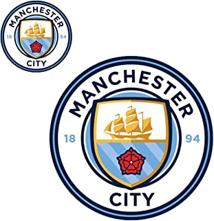 WinCraft Manchester City Outdoor Vinyl Decal Set: 1 Large Decal 7.5