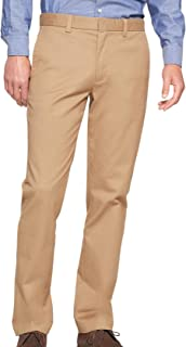 Banana Republic Mens Techmotion Aiden-Fit Stretch Chino Pants Airforce Khaki Beige
