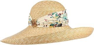 Lierys Cappello di Paglia Tiviana Donna - Made in Italy Estivo da Sole Primavera/Estate